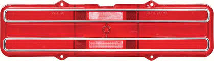 tail light lens assembly 1968 pontiac firebird parts 5959716 1967 68 firebird tail l