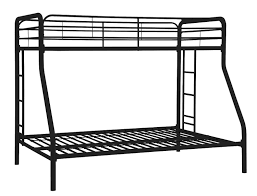 Steel Double Deck Bed Designs Amazon Com Dhp Twin Over Full Bunk Bed With Metal Frame And