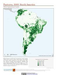 South America Satellite Map by Map Gallery Sedac