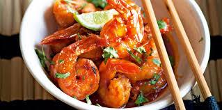 cuisine wok facile crevettes caramélisées faciles au wok facile recette sur cuisine
