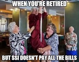 Funny Stripper Memes - stripping grannies imgflip