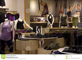 Nice Clothing Stores For Women Yoga Dancing Gym Clothing Store Editorial Stock Image Image