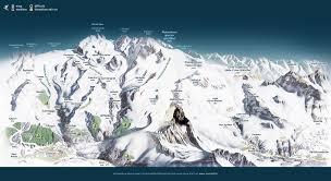 World Map Winter by Panoramic Map Live Winter Matterhorn Zermatt