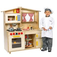 Step Two Play Kitchen by Wooden Kitchen Playsets Kitchen Extraordinary Wooden Play Kitchen