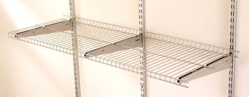 Rubbermaid Fasttrack Closet Rubbermaid Fasttrack Wire Shelf U0026 Reviews Wayfair