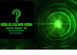 escape party halloween riddles escape room myrtle beach