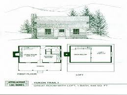 cabin plan one bedroom floor exceptional plans rustic log charvoo