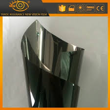glass door tinting film privacy protection black mirror window shade car sun protective