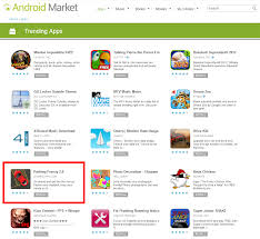 android market app games2win s parking frenzy is a top trending app in us android