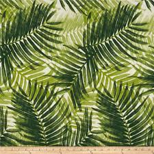 outdoor upholstery fabric ships same day green palm fronds indoor outdoor tropical