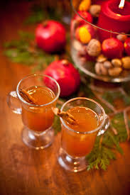 pretty alcoholic drinks spiced apple cider simple bites