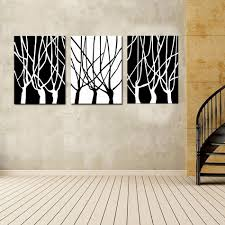 Abstract Wall Mural Contemporary Wall Art Black And White Combination Sorrentos
