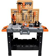 Kids Tool Bench Home Depot Amazon Com Step2 Deluxe Workshop Playset Toys U0026 Games