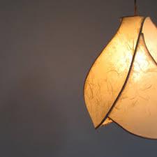 Paper Pendant Shade Shop Handmade Paper Lamps On Wanelo
