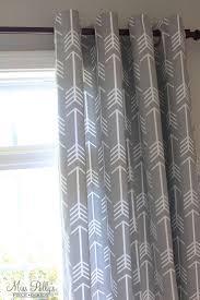 Nursery Blackout Curtains Uk by Arrow Nursery Decor Boys Baby Boy Aztec Green Gingham Curtains