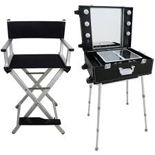 portable hair and makeup stations mobile beauty station and folding chair 250 beauty station
