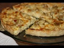 recette de cuisine quiche au poulet quiche au poulet olives chicken olive quiche كيش بالدجاج و