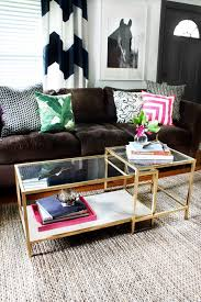 Living Room Tables Ikea Diy Tuesday Easy Gold Ikea Coffee Table Hack