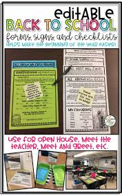 62 best classroom open house back to night conferences
