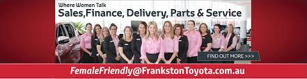 toyota homepage frankston toyota welcome to frankston toyota