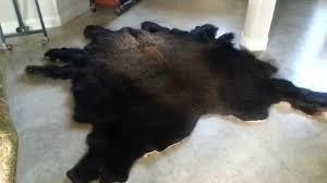 Bison Hide Rug Gambrell Renard Classic Buffalo Hide Rug Youtube