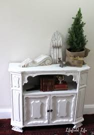 lilyfield life painting a vintage bookcase white step by step
