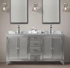 Stainless Steel Bathroom Vanity Cabinet Laboratory Stainless Steel Vanity