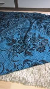 Blau Schwarz Muster Decke Tagesdecke In Blau Schwarz Mit Muster In Niedersachsen