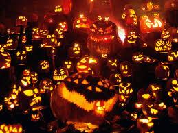 orange halloween lights home appliances decoration