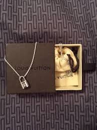 make silver necklace images Make a promise silver lockit pendant from louis vuitton jpeg