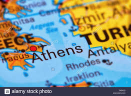 Map Of Athens Greece by Map Of Athens Stock Photos U0026 Map Of Athens Stock Images Alamy
