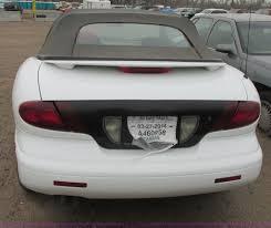 1998 pontiac sunfire convertible item g8496 sold april
