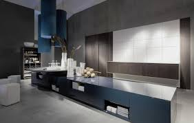 furniture long modern storage wall unit in minimalist room