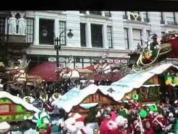 macy s thanksgiving day parade 2011 santa claus