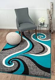 Area Rug Styles Summit 37 New Grey Torquoise Area Rug Modern Abstract Rug Many