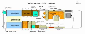 school bus floor plan school bus conversion floor plans homes floor plans