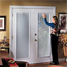 French Doors With Blinds In Glass Epic French Doors With Blinds In Creative Home Interior Design P80