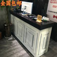 Small Hair Salon Modern White Small Reception Desk Small White Wholesale Beautiful Hair Salon