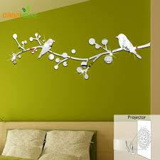 tree mirror wall decal color the walls of your house tree mirror wall decal wall sticker home decor tree bird mirror wall stickers diy wall