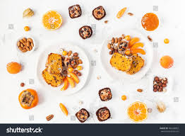 table served thanksgiving dinner autumn food stock photo 700248853