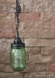 Mason Jar Pendant Light Mason Jar Pendant Light Domestic Imperfection