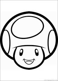 drawn mushroom mario pencil color drawn mushroom mario