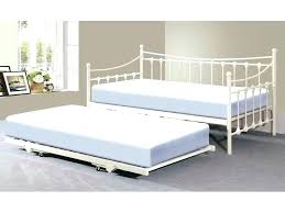 Trundle Bed Frame And Mattress Metal Trundle Bed Frame Day S Day Size Metal Day Bed