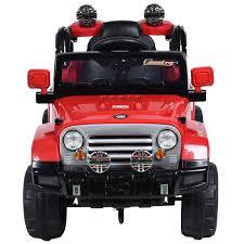 kids red jeep 6v 12v 24v kids electric cars u0026 jeeps buy ride on toys 11cart com