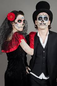 Couples Halloween Costumes Ideas Halloween Couple Ideas Day Of The Dead Creative Scary Couple