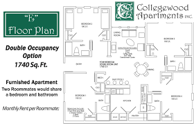 floor plans collegewood apartments
