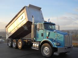 used kenworth trucks kenworth tri axle aluminum dump truck for sale 11565