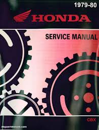 1979 1980 honda cbx1000 motorcycle service manual
