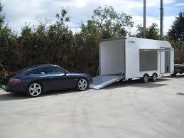 carrello porta auto rimorchio furgonato auto lf 3000 bertuola trailer srl