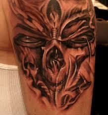 sick tattoos brow tribal tattoos